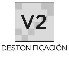 Destonificación V2 ligera Prosein - La variación de tono destonificación es inherente a todos los productos cerámicos.