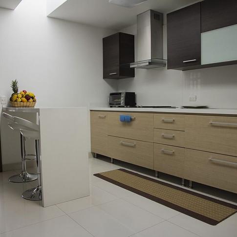 Remodelación integral Apartamento 134 Cocina
