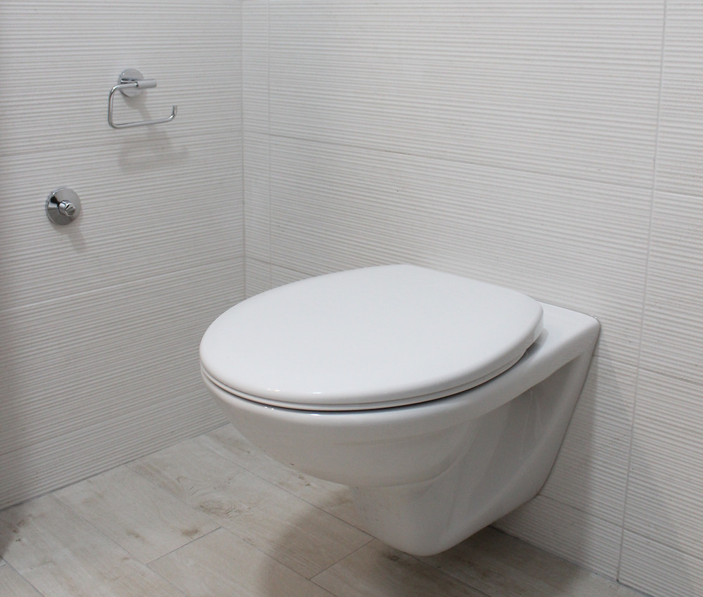Sanitario flotante baño pequeño
