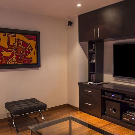 Remodelación integral Apartamento 116 Sala de tv