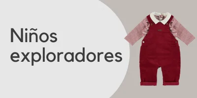 María Helena ropa para niños exploradore