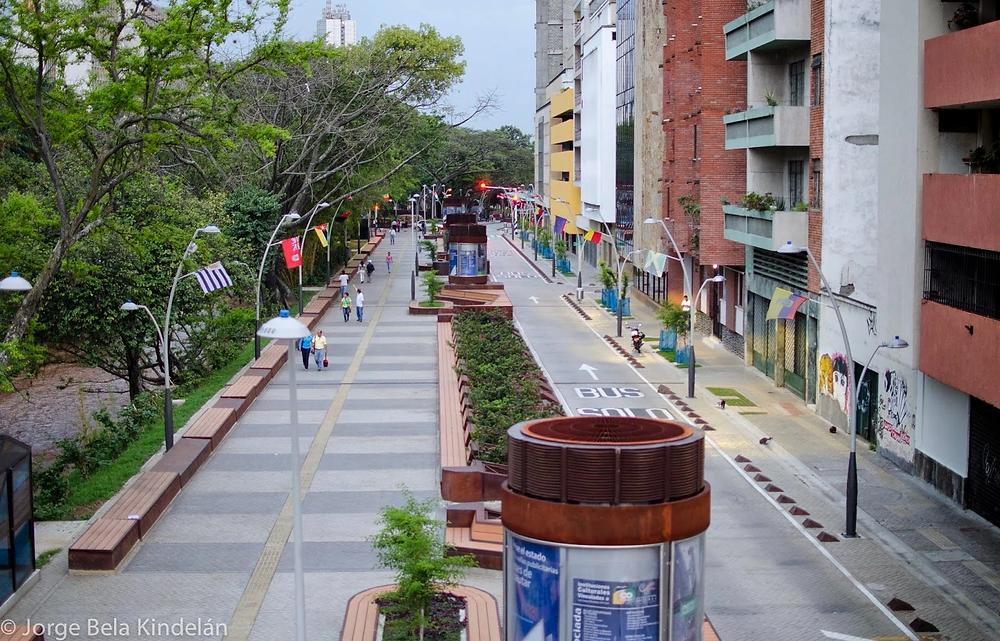 Bulevar de la Avenida Colombia.    Vía cali.gov.co