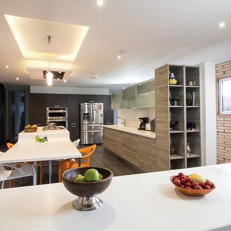 Diseño y construcción Casa Chía Cocina