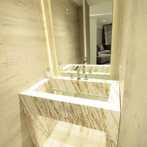 Remodelación integral Apartamento Pantoja Baño