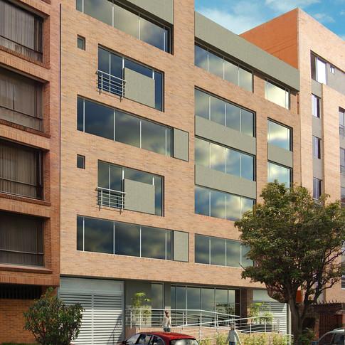 Diseño y construcción edificio BQ 54 Exterior