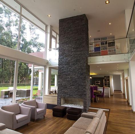 Diseño y construcción Casa Chía Sala