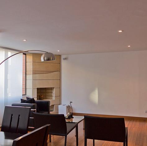 Remodelación integral Apartamento 116 Sala comedor