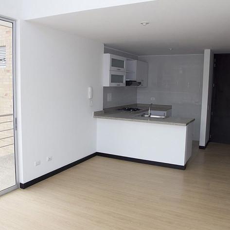 Diseño y construcción edificio BQ 45 Cocina
