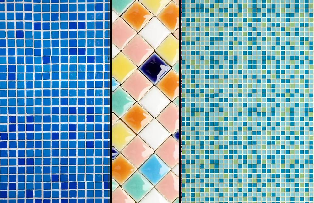 Azulejos pequeños para baños