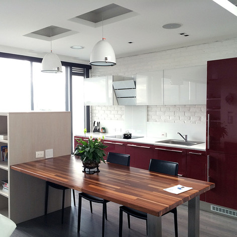 Remodelación integral Apartamento 801 Cocina