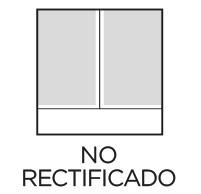 No rectificado Prosein - Nombre que recibe el acabado de aquellas baldosas mejoradas dimensionalmente tras el proceso de cocción.
