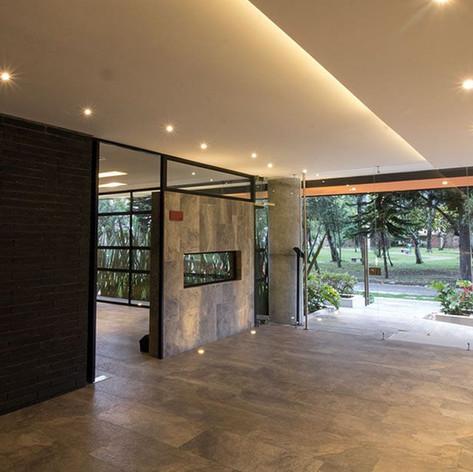 Diseño y contrucción Antara 135 Interior portería