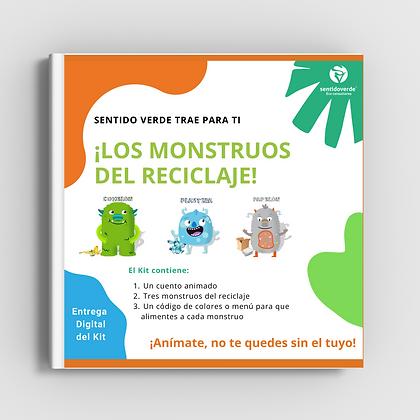 Kit para aprender a reciclar   PDF   Los Monstruos del reciclaje