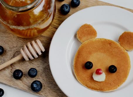 Desayuno divertido para tu hijo(a)