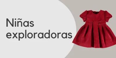 María Helena ropa para niña exploradora.