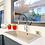 Grifería lavaplatos monocontrol extensible Línea Exo ambiente general
