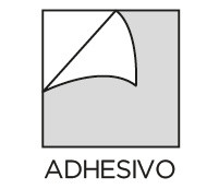 Estilo Adhesivo Prosein - Producto que no requiere material de pega para su instalación.