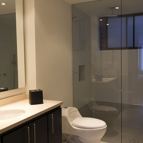 Remodelación integral Apartamento 116 Baño