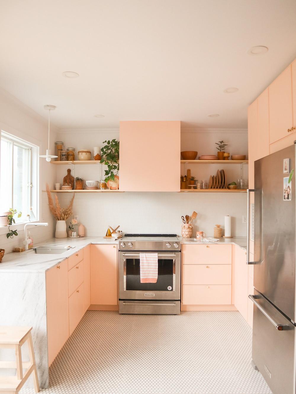 Cocina blush