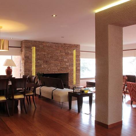 Remodelación integral Apartamento Calle 80 Sala comedor