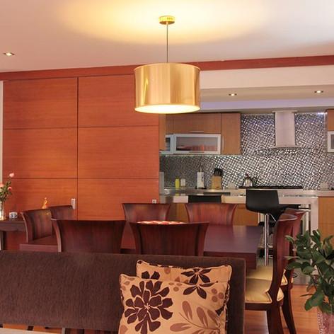 Remodelación integral Apartamento Calle 80 Comedor y cocina