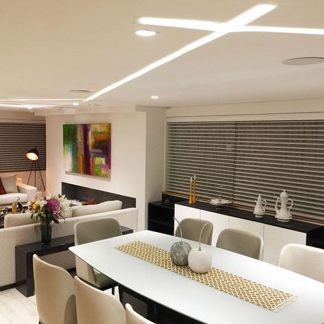 Remodelación integral Apartamento Pantoja Sala comedor