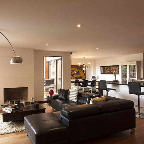 Remodelación integral Apartamento Larsen Sala