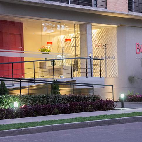 Diseño y construcción edificio BQ 85 Portería