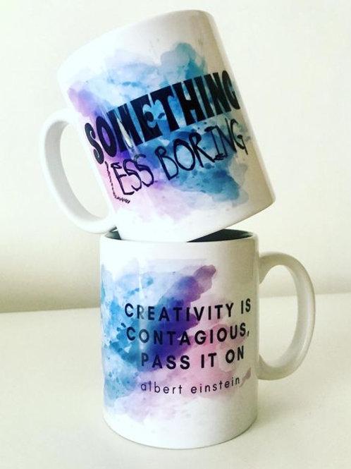 Something Less Boring Mug