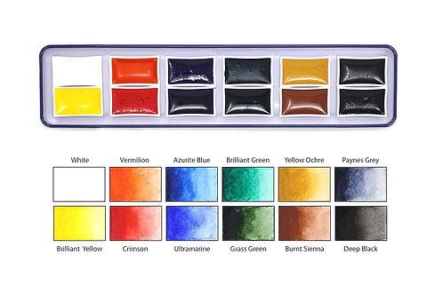 High Pigment Watercolour (Gouache Alternative)