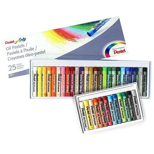 Pentel Oil Pastels Set of 12