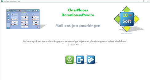 ClassPlaces Openingsscherm