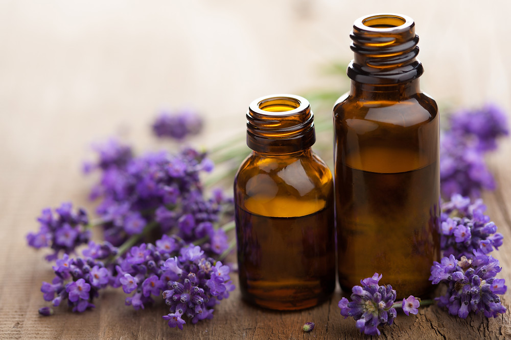 Lavender oils help during your period to relax you