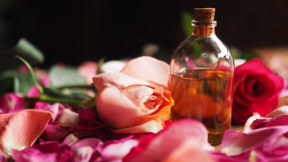 Rose oil is good for you during your period