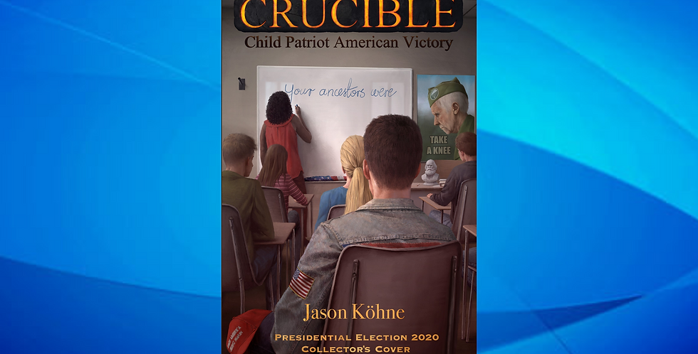 Give a financial gift & receive Crucible: Child Patriot American Victory