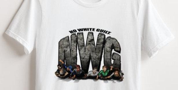 SquashingSkeptics Graphic Women's White T-Shirt