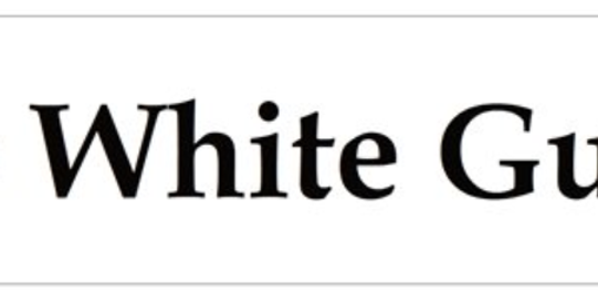 No White Guilt Bumper Sticker