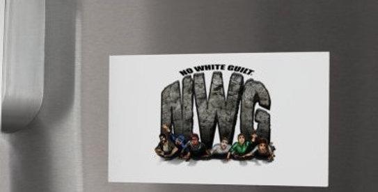 Squashing Skeptics Graphic NWG Magnets set of 25