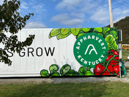 AppHarvest high-tech educational container