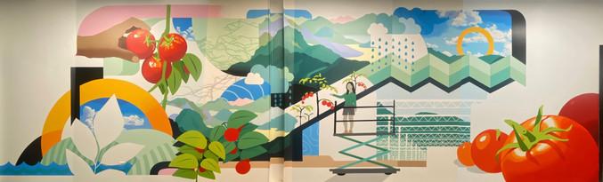 AppHarvest interior mural full