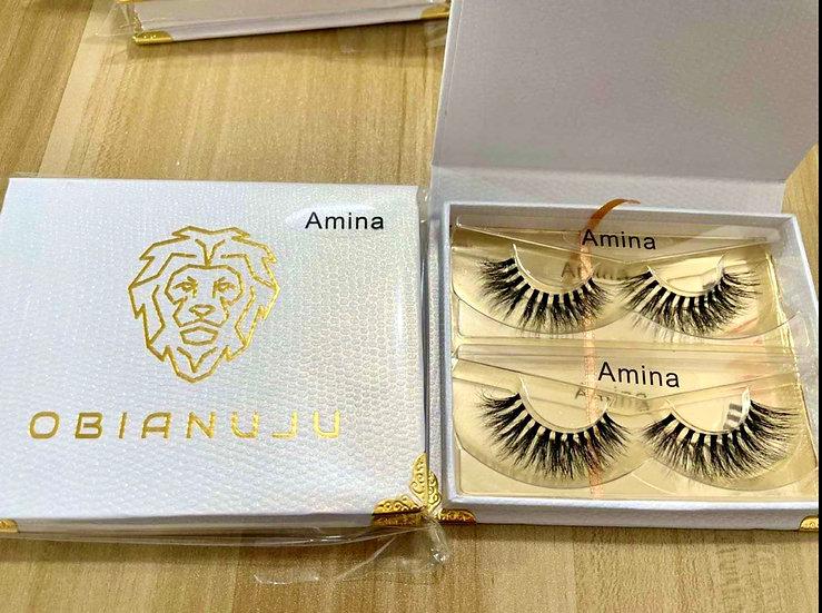 Amina - Invisible Band Mink Lashes