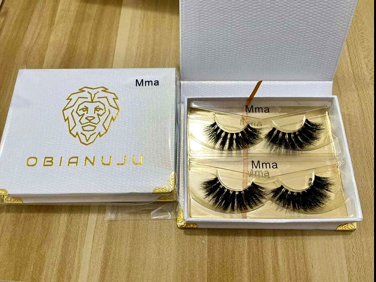 Mma - Invisible Band Mink Lashes