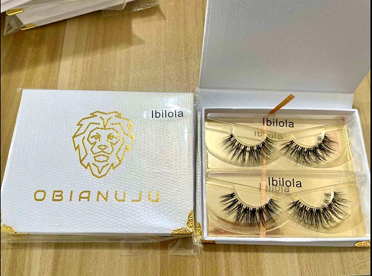 Ibilola - Invisible Band Mink Lashes