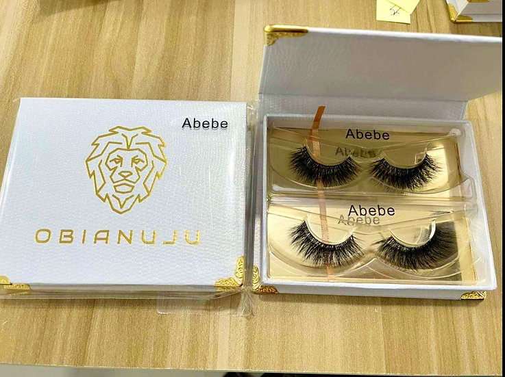 Abebe - Invisible Band Mink Lashes