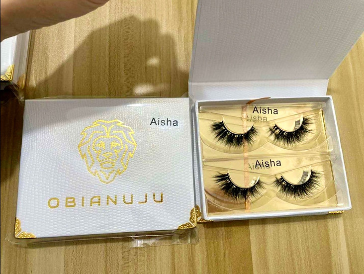 Aisha - Luxury Mink Lashes