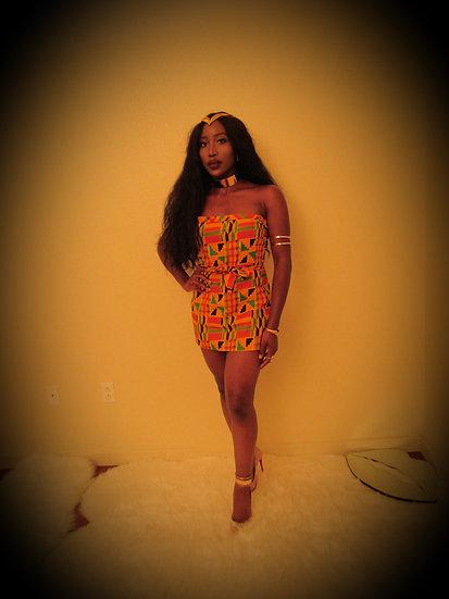 COCOA Little Kente Dress