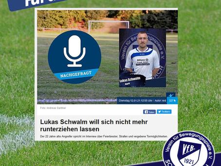 FuPa Interview mit Lukas Schwalm