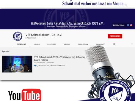 Der VfB ist jetzt auch auf YouTube zu finden !!!