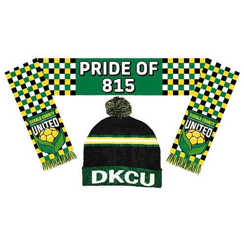 DKCU Hat & Scarf Combo