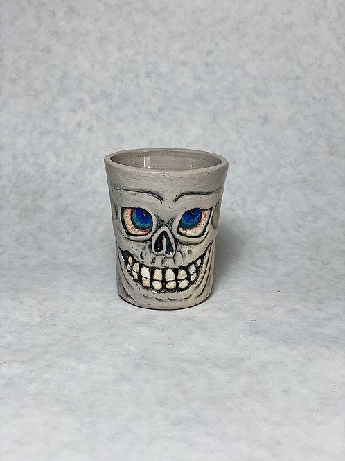 Bones the shot glass